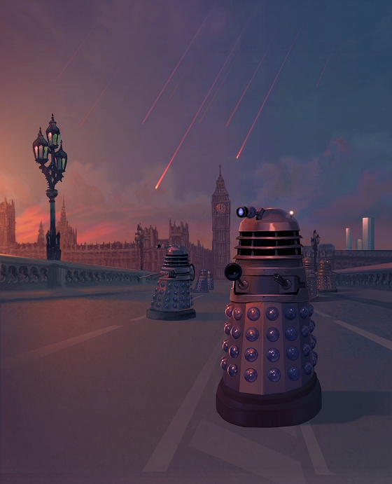 Doctor Who - Dalek Invasion of Earth 2 - Bombardment